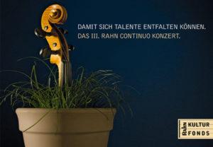 III. Rahn Continuo Konzert
