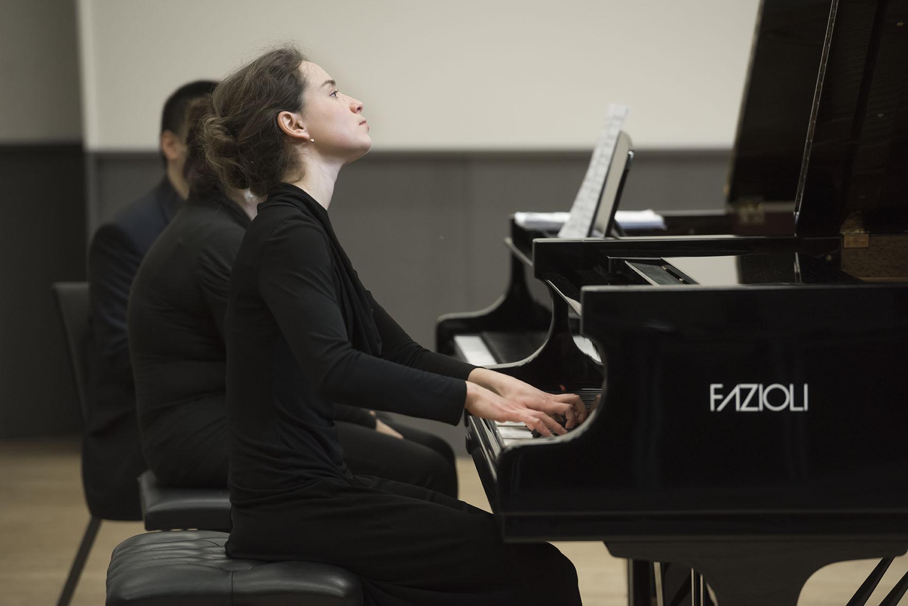 Rahn Musikpreis 2016 Finalrunde im ZKO Haus, Alexandra Sikorskaya erspielt sich den dritten Preis