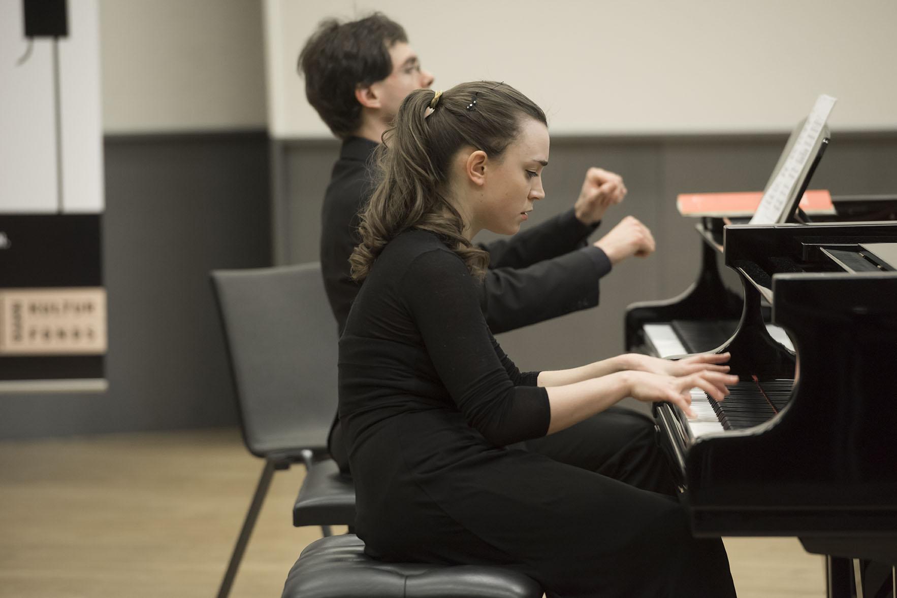Rahn Musikpreis 2016 Finalrunde im ZKO Haus, Chiara Opalio gewann den ersten Preis