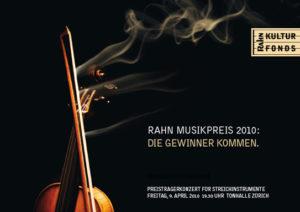 Rahn Musikpreis 2010