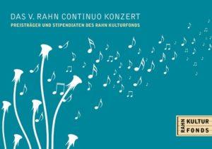 V. Rahn Continuo Konzert