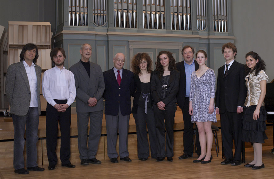 Prize winners and jury - Rahn Musikpreis 2008