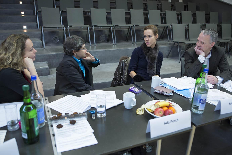 Juroren Rahn Musikpreis 2014, Karen Forster, Ada Pesch, Sol Gabetta und Frank Sanderell
