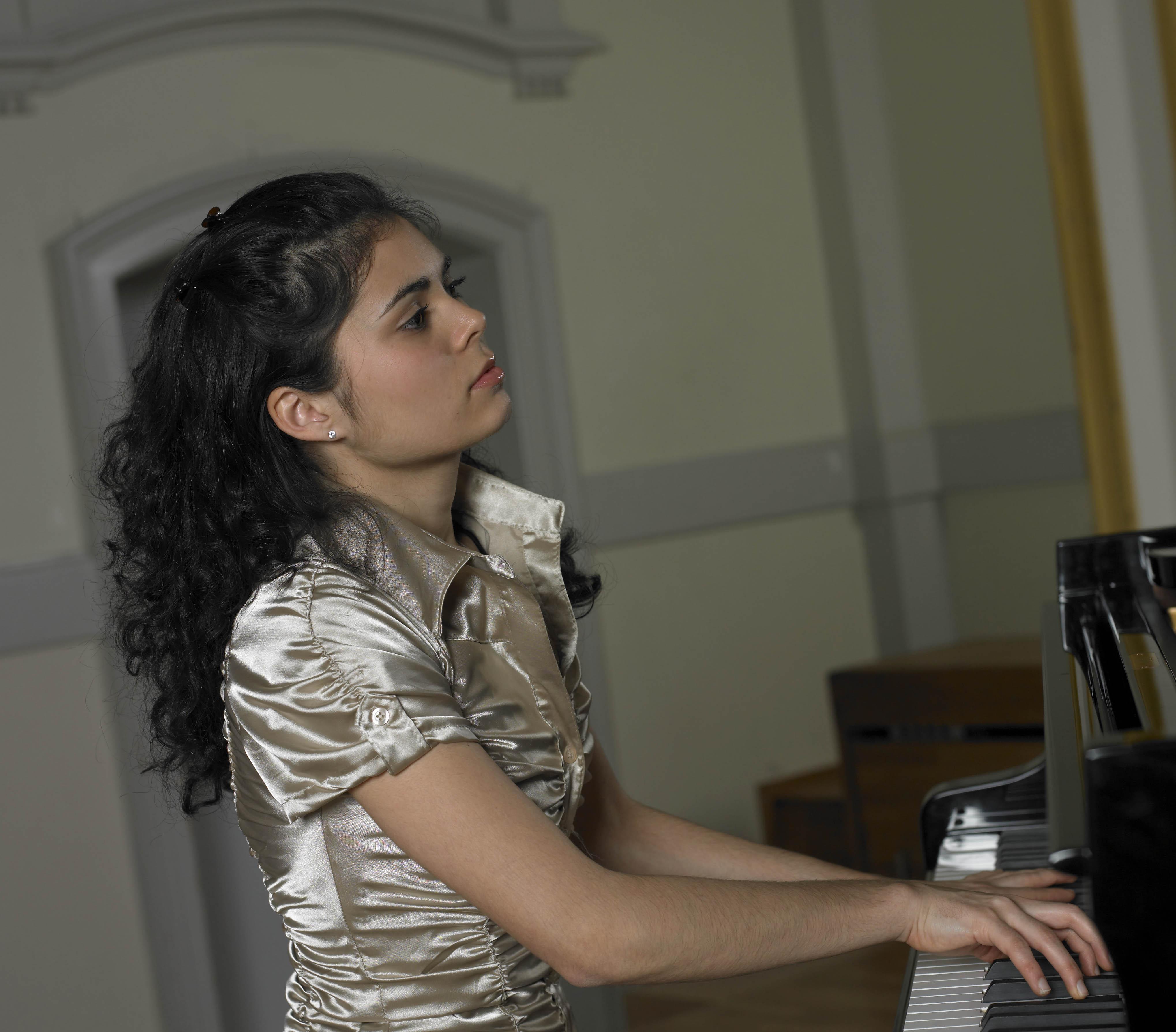 1. Preisträgerin Giulietta Koch, Rahn Musikpreis 2008
