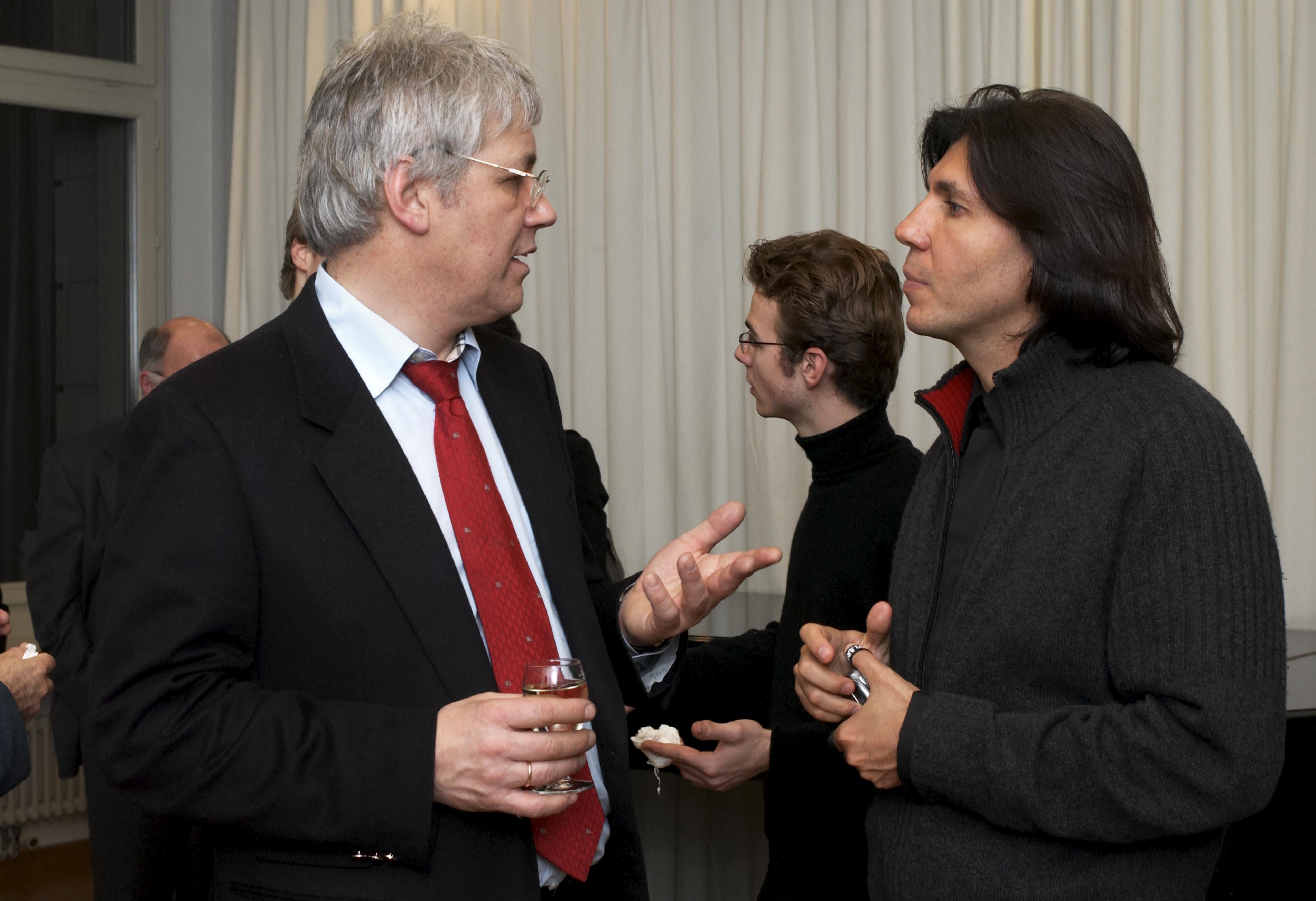 Rahn Musikpreis 2006, Johannes Degen und Ricardo Castro