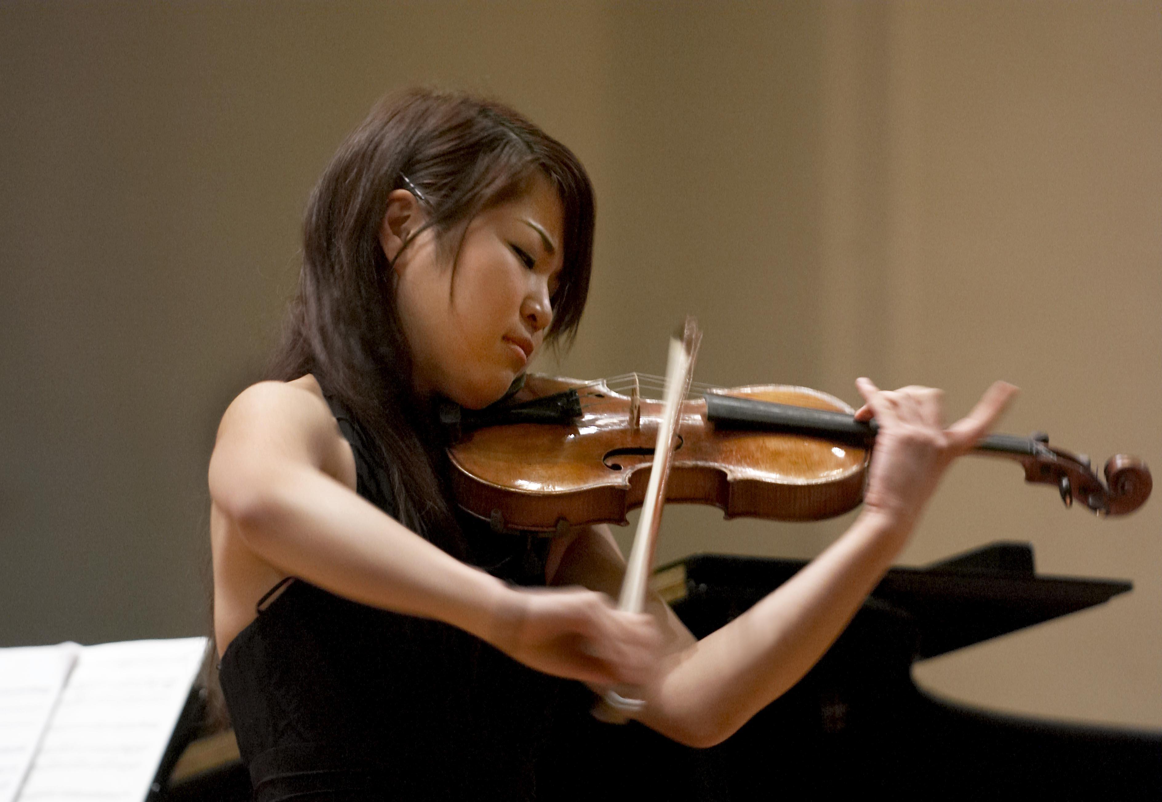 Rahn Musikpreis 2006, Mayuko Kamio, 1. prize violin