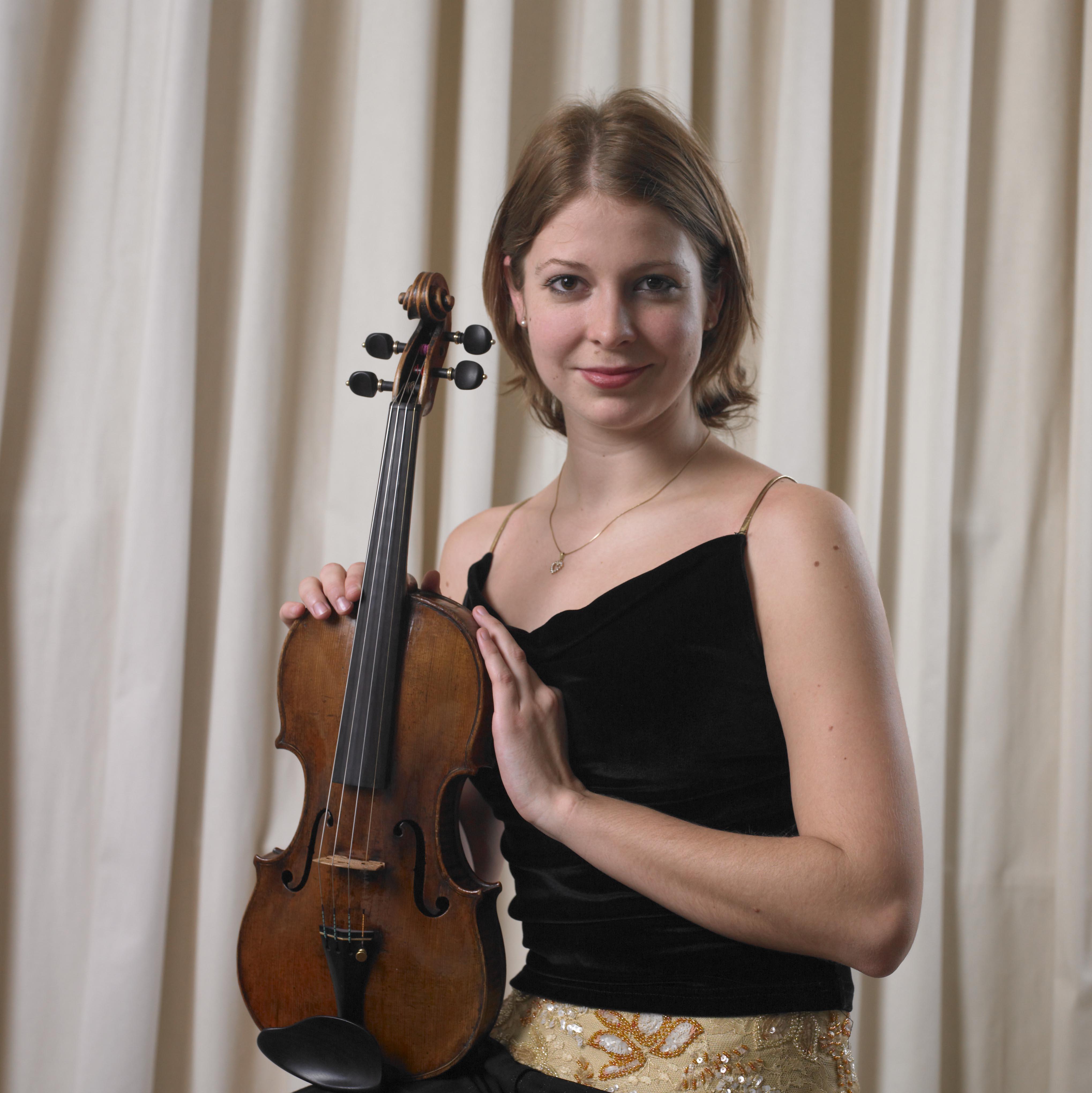 Rahn Musikpreis 2006, Noémie Rufer, 3. prize violin