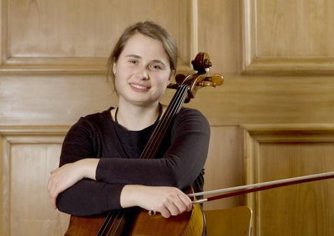 Marie Waldmannova, 3. Preis Violoncello Rahn Musikpreis 2010
