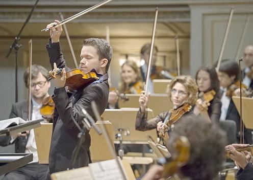Rustem Monasypov, 2. Preisträger Rahn Musikpreis 2014, Preisträgerkonzert
