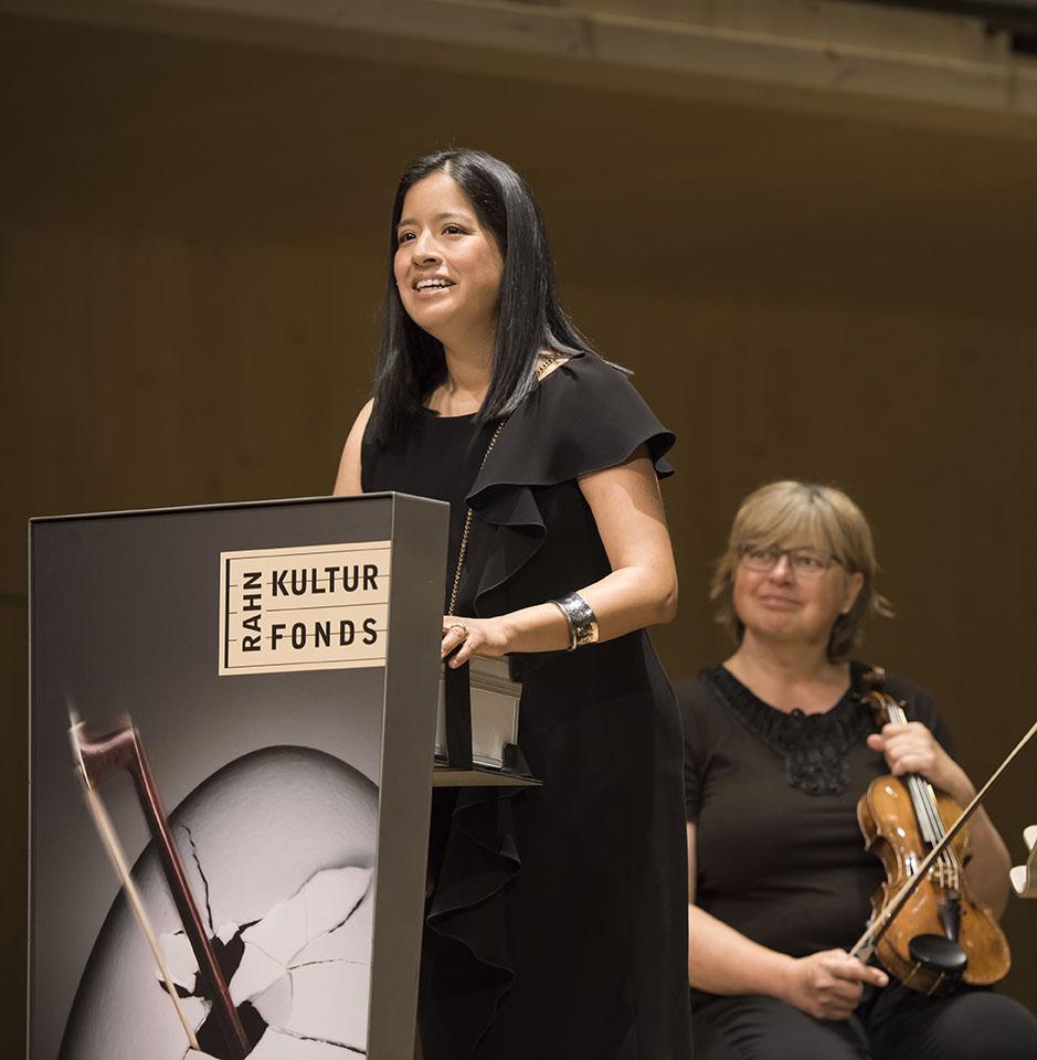 Ana P. Rahn Erden, Präsidentin Rahn Kulturfonds