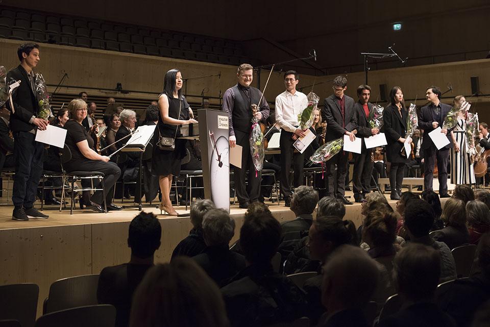 Preisträger Rahn Musikpreis für Streicher 2018