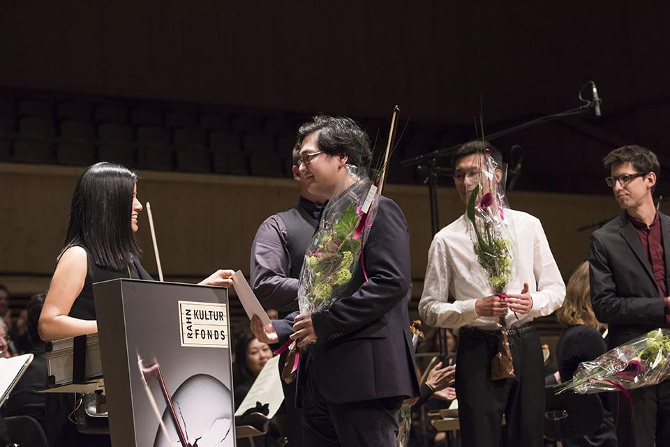 Award ceremony - Sherniyaz Mussakhan, 2. prize violin