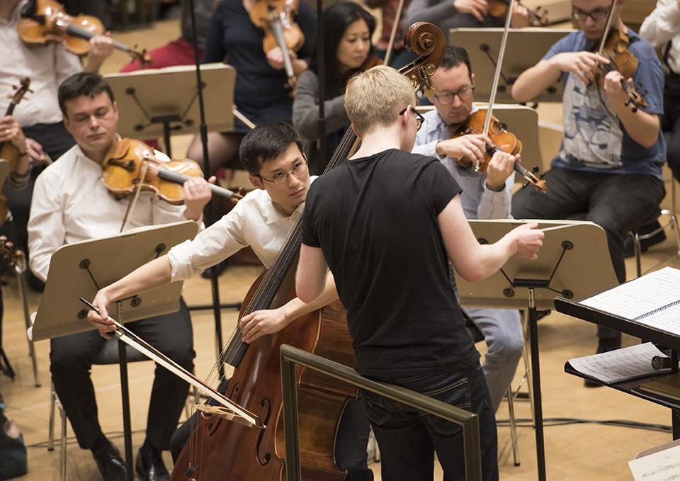 Generalprobe - 1. Preisträger Zhixiong Liu und Patrick Hahn