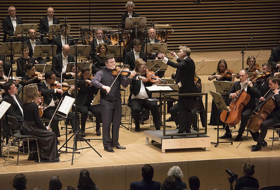 Rahn Preisträgerkonzert für Streicher 2018