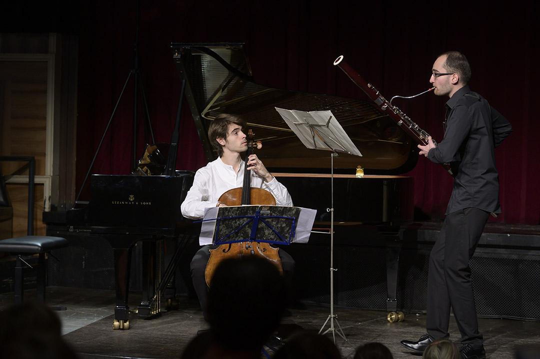 Alfredo Ferre Martínez und Elias Agsteribbe, beides Stipendiaten des Rahn Kulturfonds