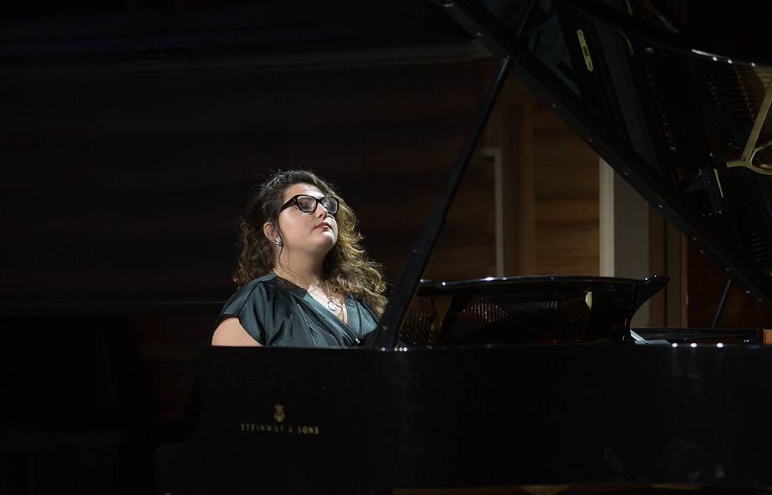 Larisa Baghdasaryan, scholarship holder Rahn Kulturfonds
