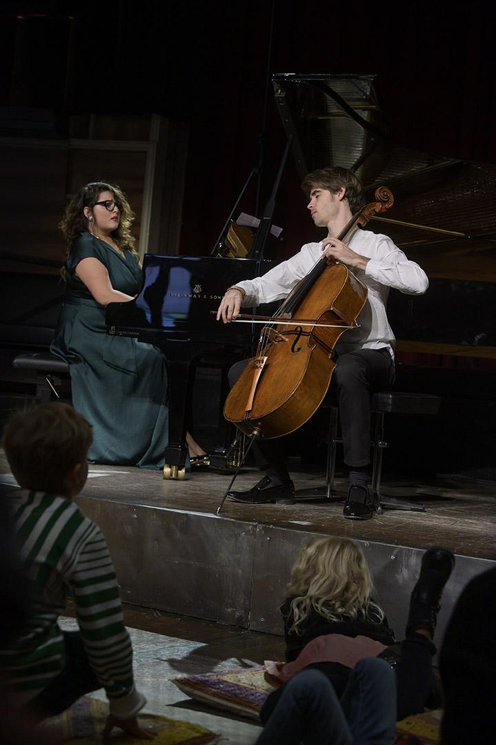 Larisa Baghdasaryan and Alfredo Ferre Martínez, scholarship holder Rahn Kulturfonds