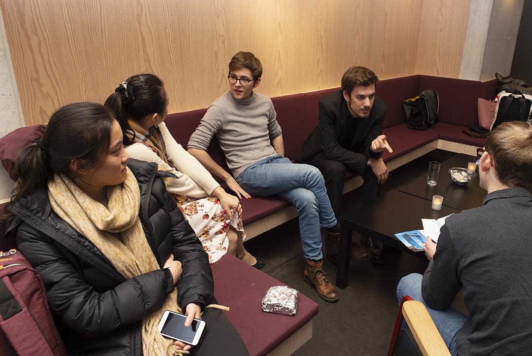 Die Finalisten warten auf die Preisverleihung, Rahn Musikpreis 2020