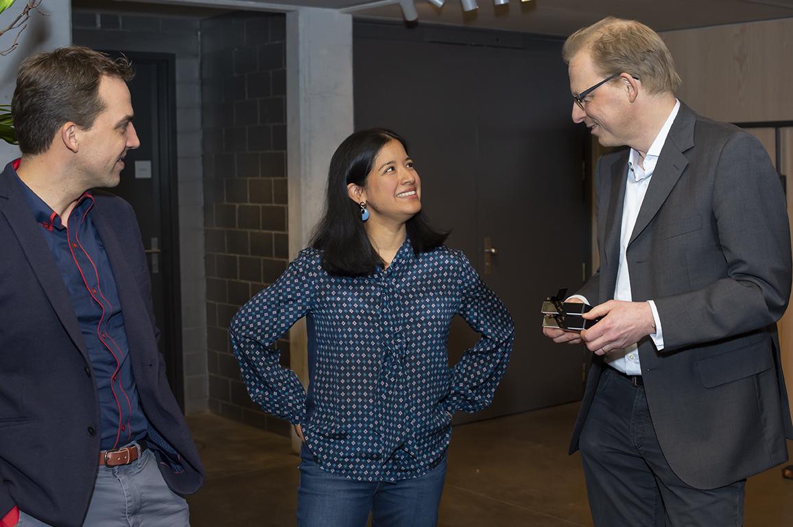 Benjamin Engeli, Ana P. Rahn Erden, Adrian Oetiker (LTR)