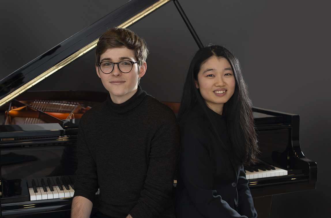 Jérémie Conus and Yilan Zhao, 3. Prize Rahn Musikpreis 2020 for piano